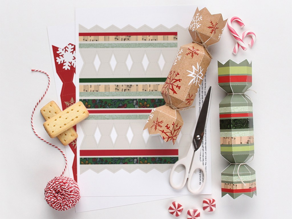 Free Printable Christmas Crackers