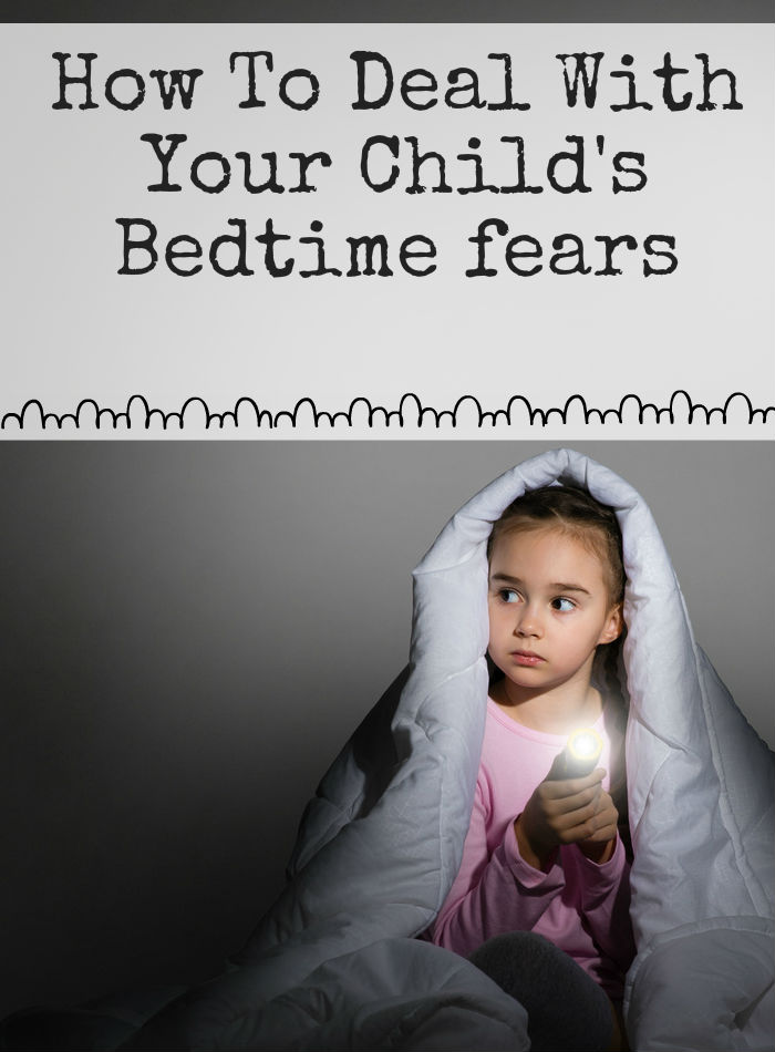 How to deal with bedtime fears. When your little one is scared at nighttime try some of these ideas to help banish monsters and worries!