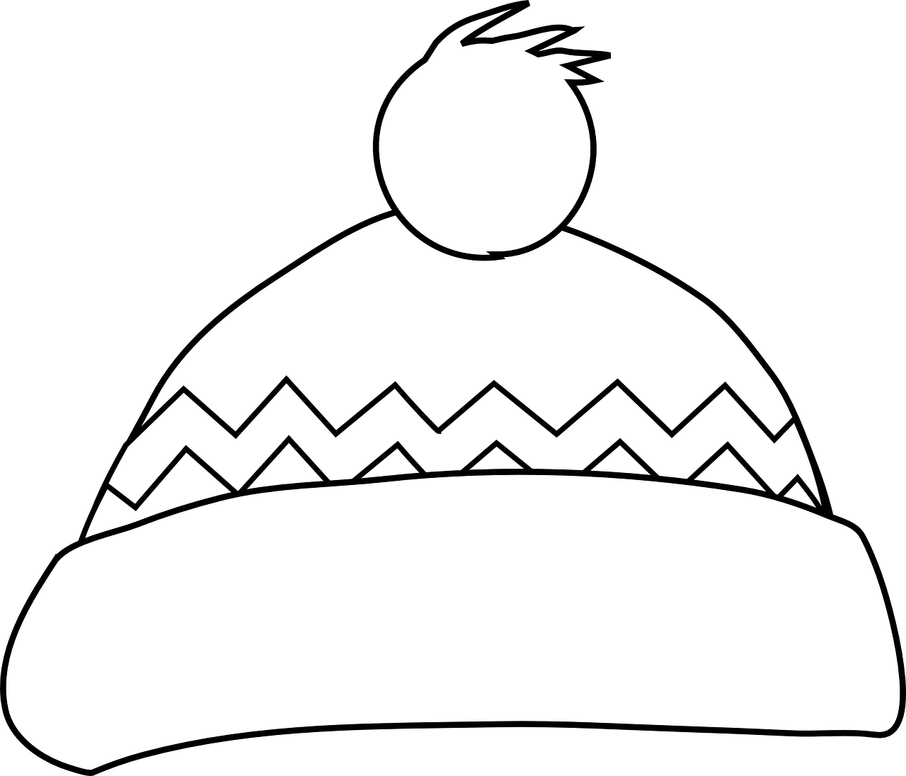 Winter Clothing Colouring Pages - In The Playroom