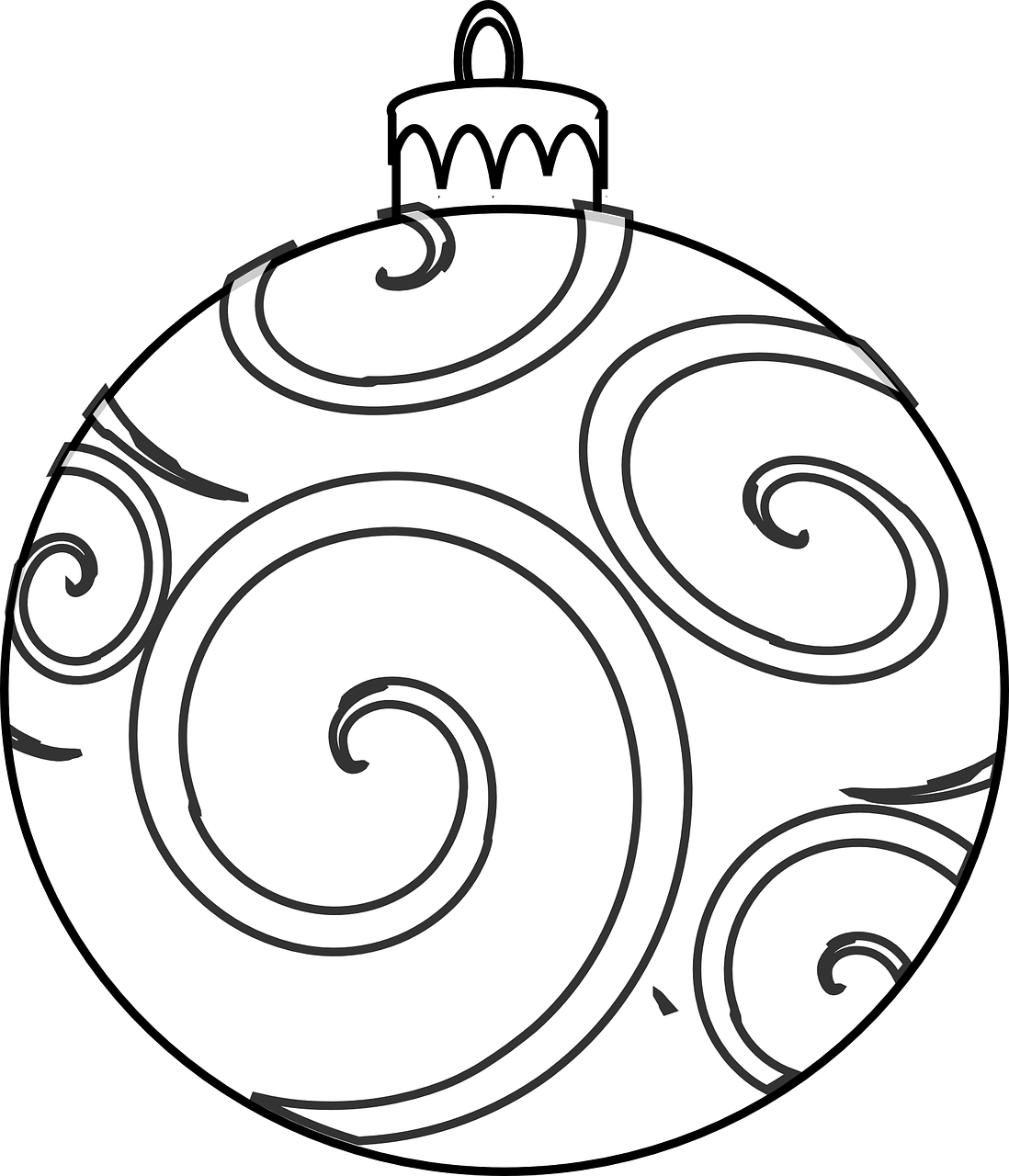 colour and design your own christmas ornaments printables in the - Printable Coloring Ornaments