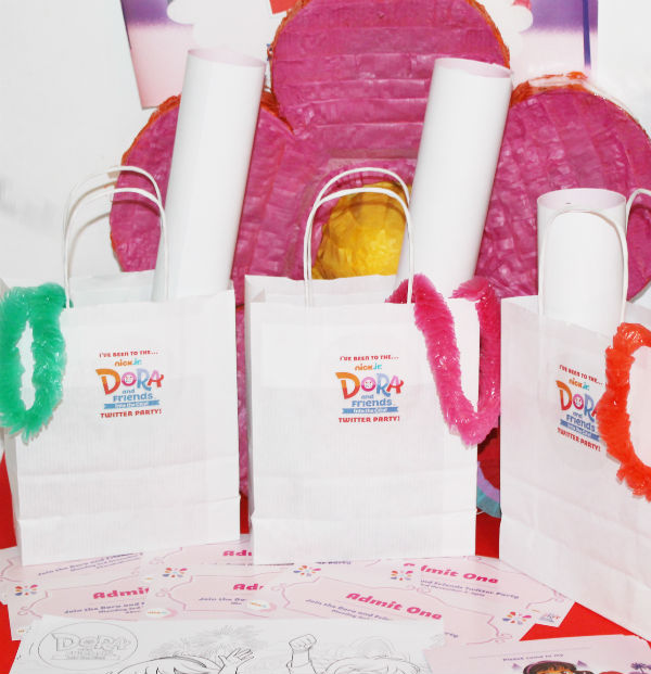 dora and friends party goodie bags