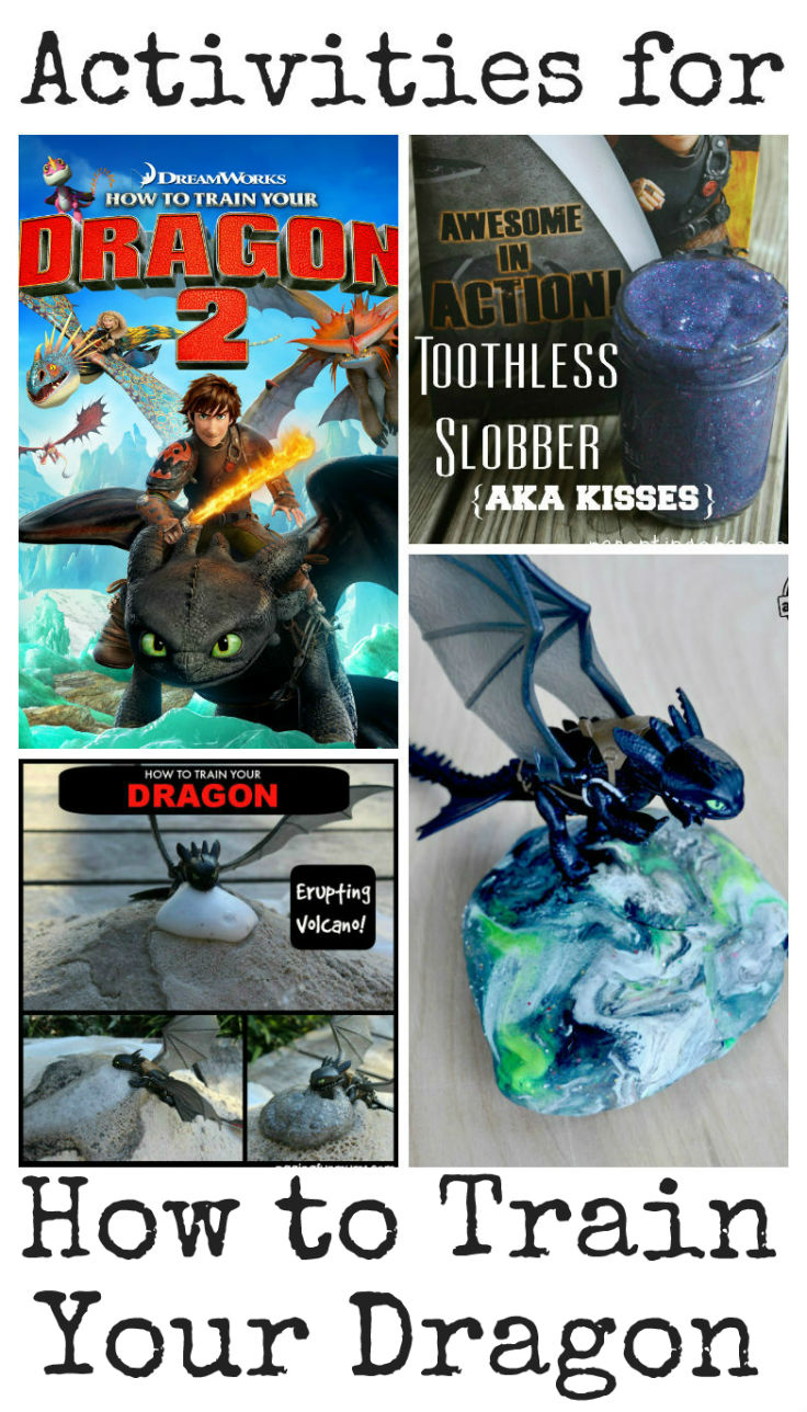 kids activities to go alongside how to train your dragon movie