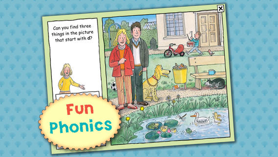 biff chip and kipper reading app : fun phonics games
