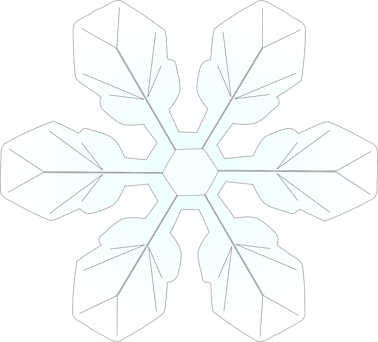 Snowflake Colouring Pages - In The Playroom