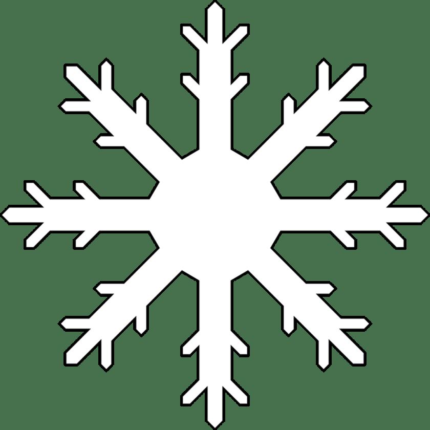 printable snowflake colouring sheet or snowflake template