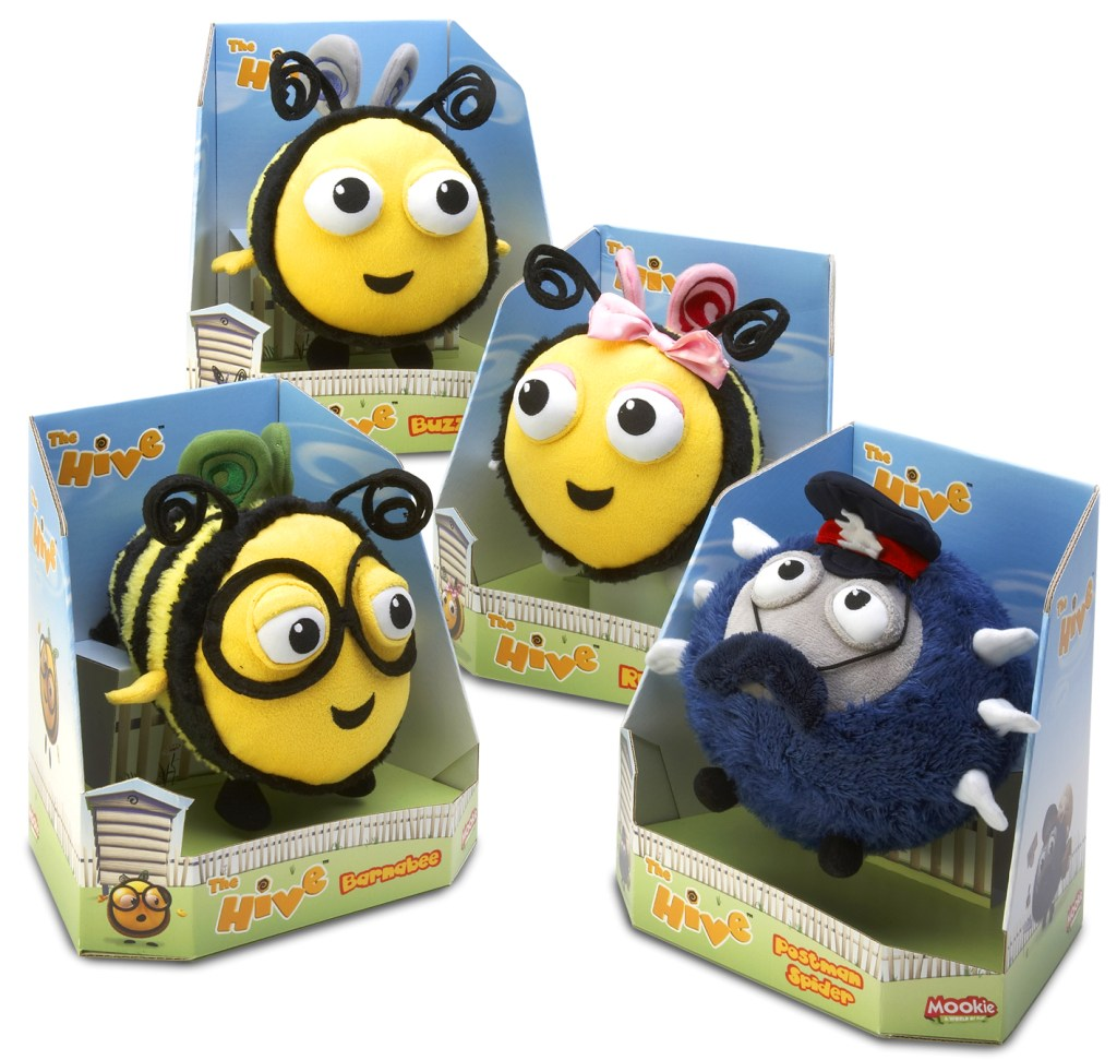 6.5 inch The Hive plush characters