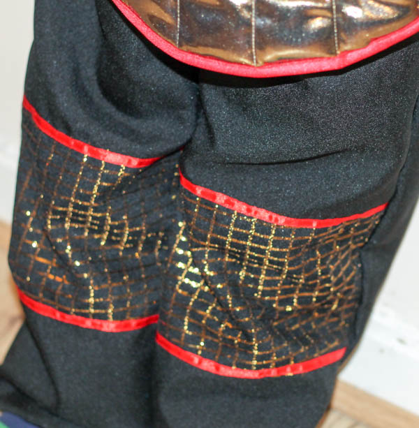 knights costume trousers