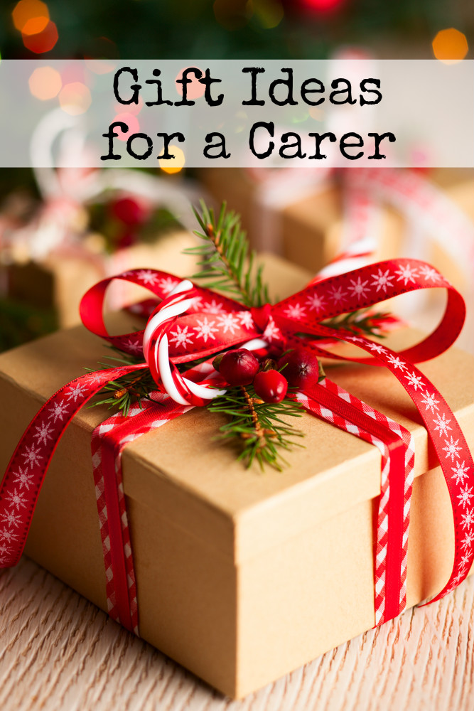 Christmas gift ideas for a carer