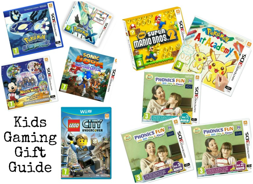 Nintendo game reviews - so many ideas for kids Christmas gifts