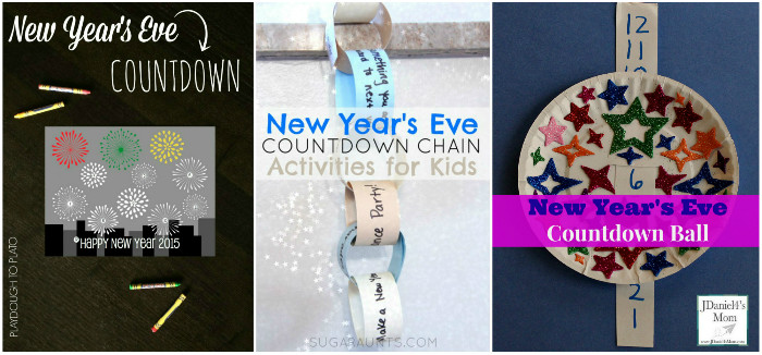 Fun ways to count down the new year on new years eve with kids