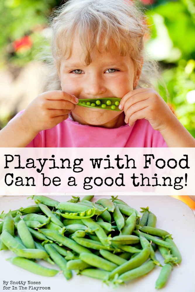 Playing with your food can be a good thing! Playful ideas to familiarise kids with new foods and get them to eat their veggies