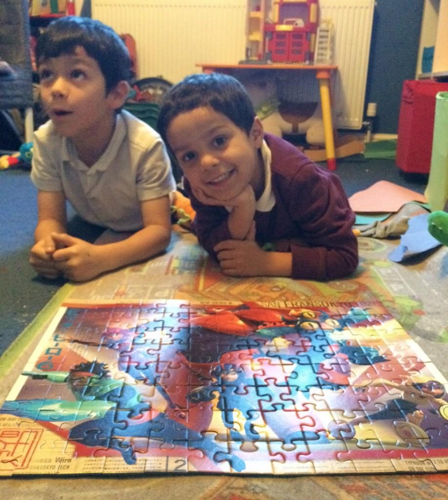 Big Hero 6 100 piece puzzle