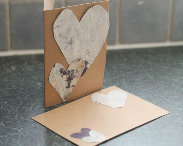 scented spice painted cards for kids to make