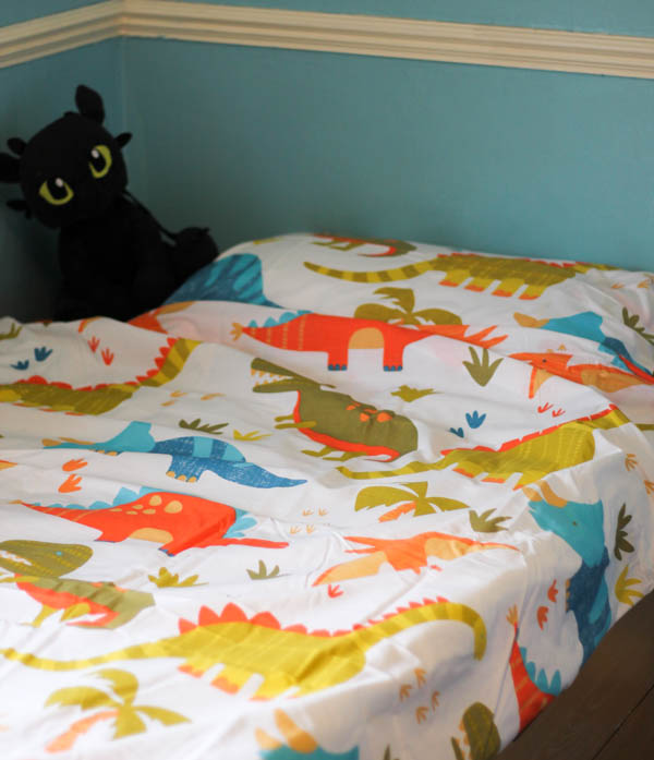 samantha george dinosaurs bedding set