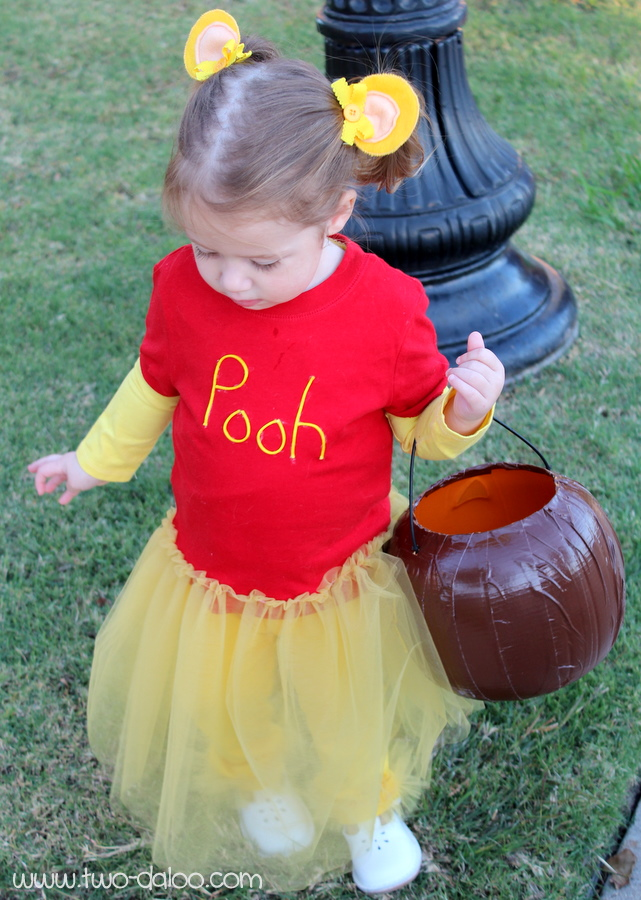 diy winnie the pooh costume for girl