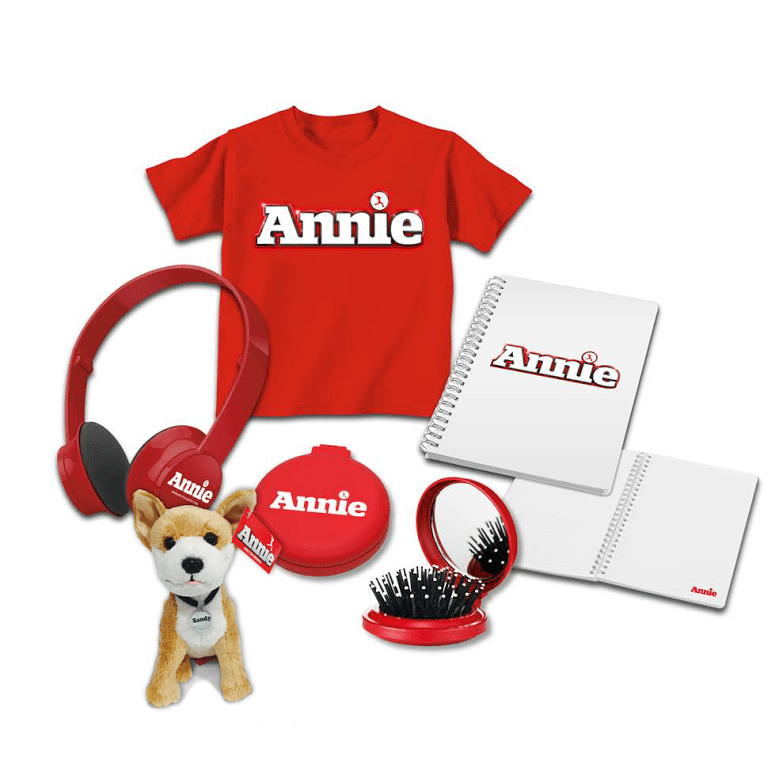 annie movie merchandise goodie bag