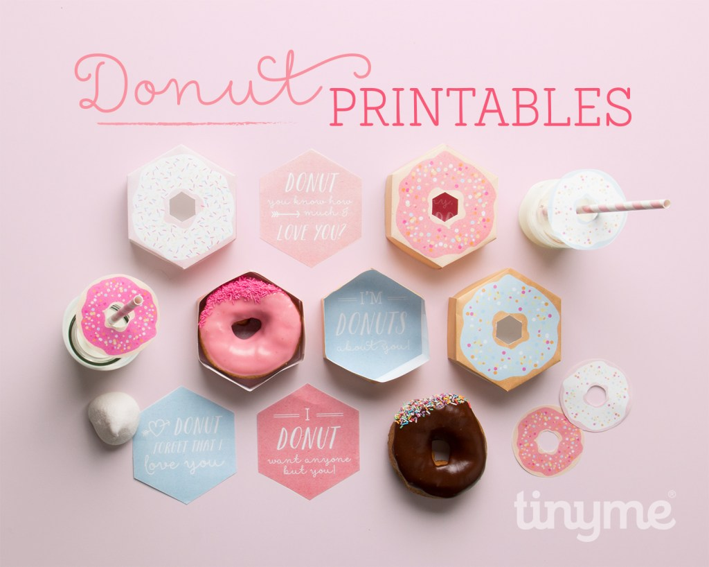 donut box printables