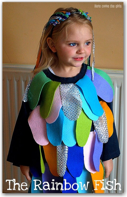 Rainbow fish world book day costume idea  sc 1 st  In The Playroom : ideas for book day costumes  - Germanpascual.Com