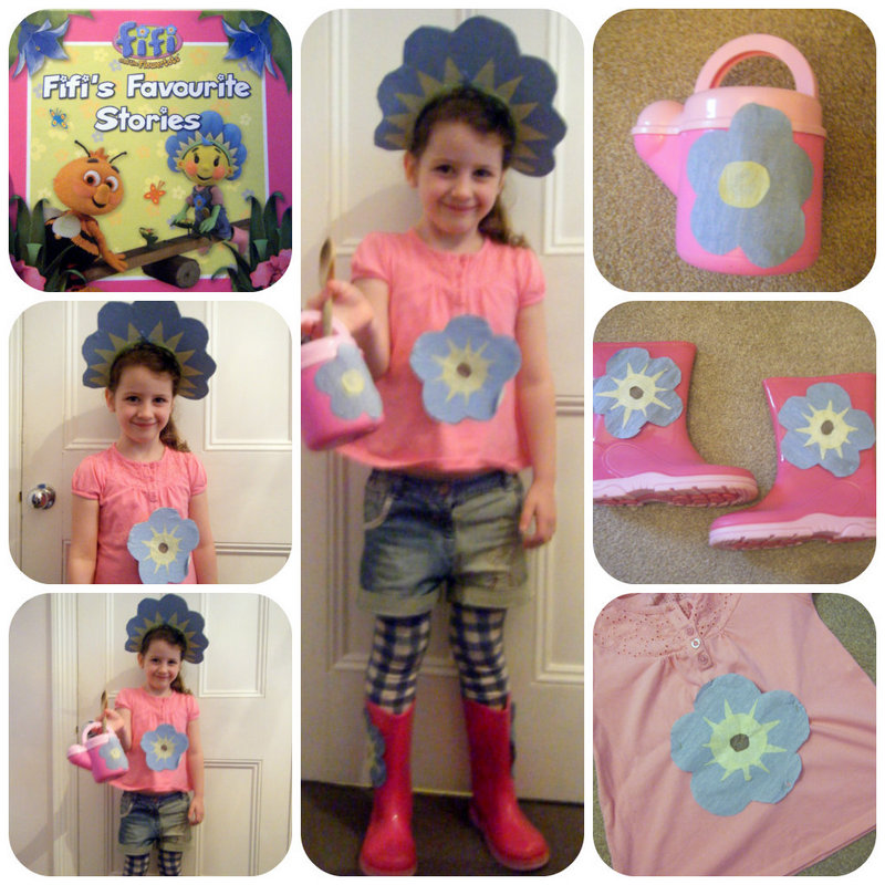 fifi and the flower tots world book day costume idea