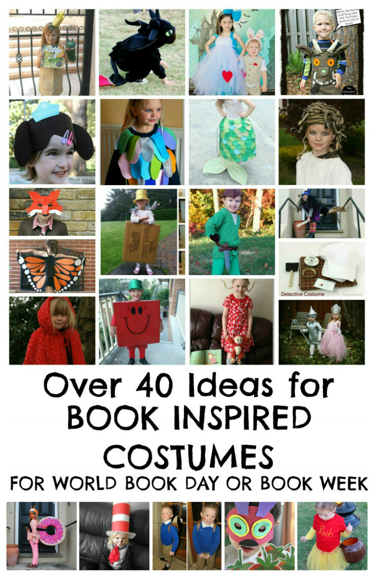 world book day costume ideas in the playroom