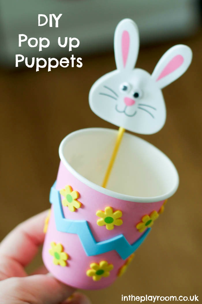 make your own pop up puppet craft
