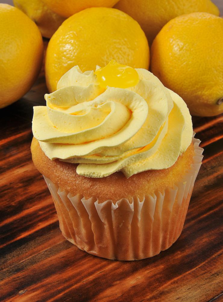 Honey Lemon Cupcakes