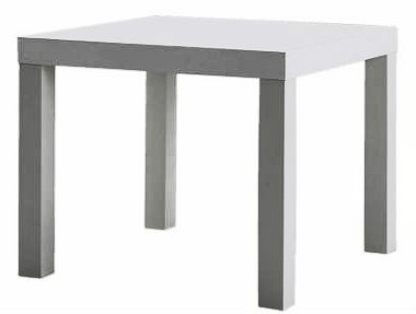 Ikea lack table to use to make a sensory table