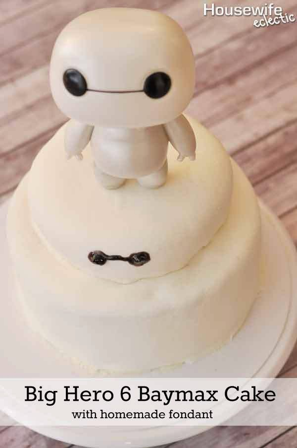 15 Big Hero 6 Cake Ideas In The Playroom