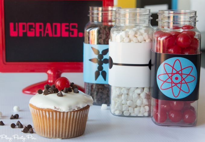 Big Hero 6 Cupcakes upgrade your cupcake