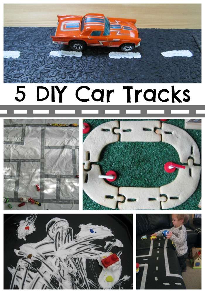 Five DIY Car Tracks Adventures of Adam