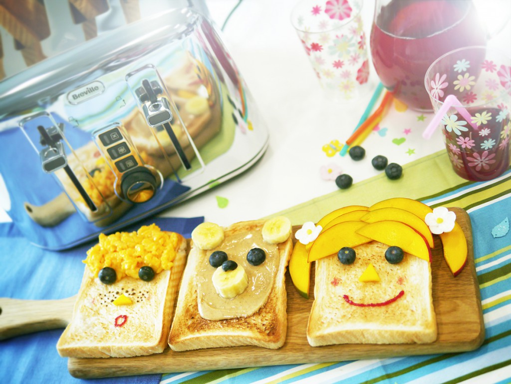 Fun toast ideas for kids