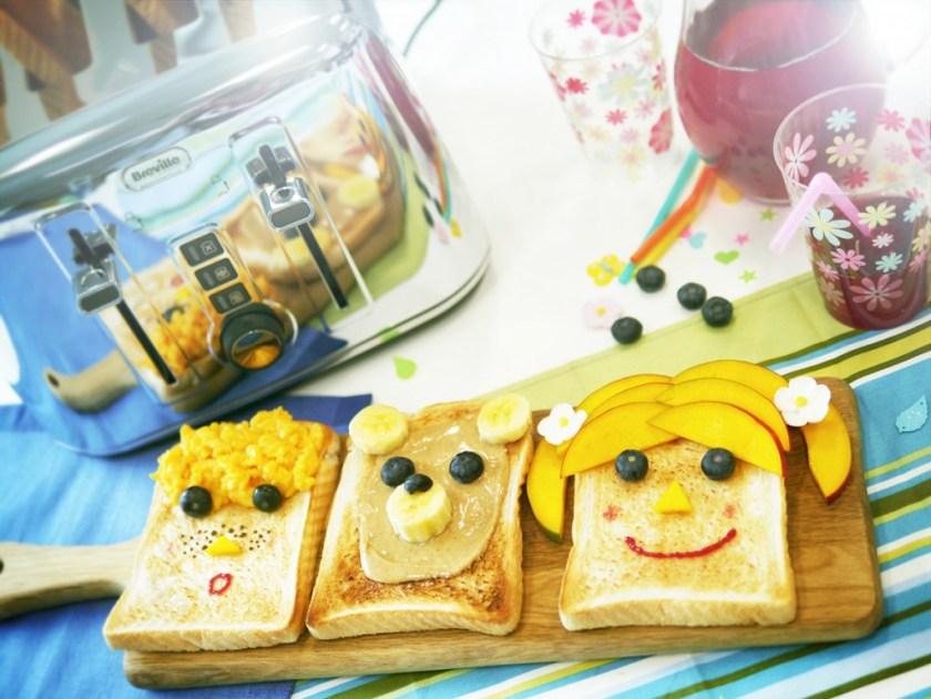 Fun toast ideas for kids