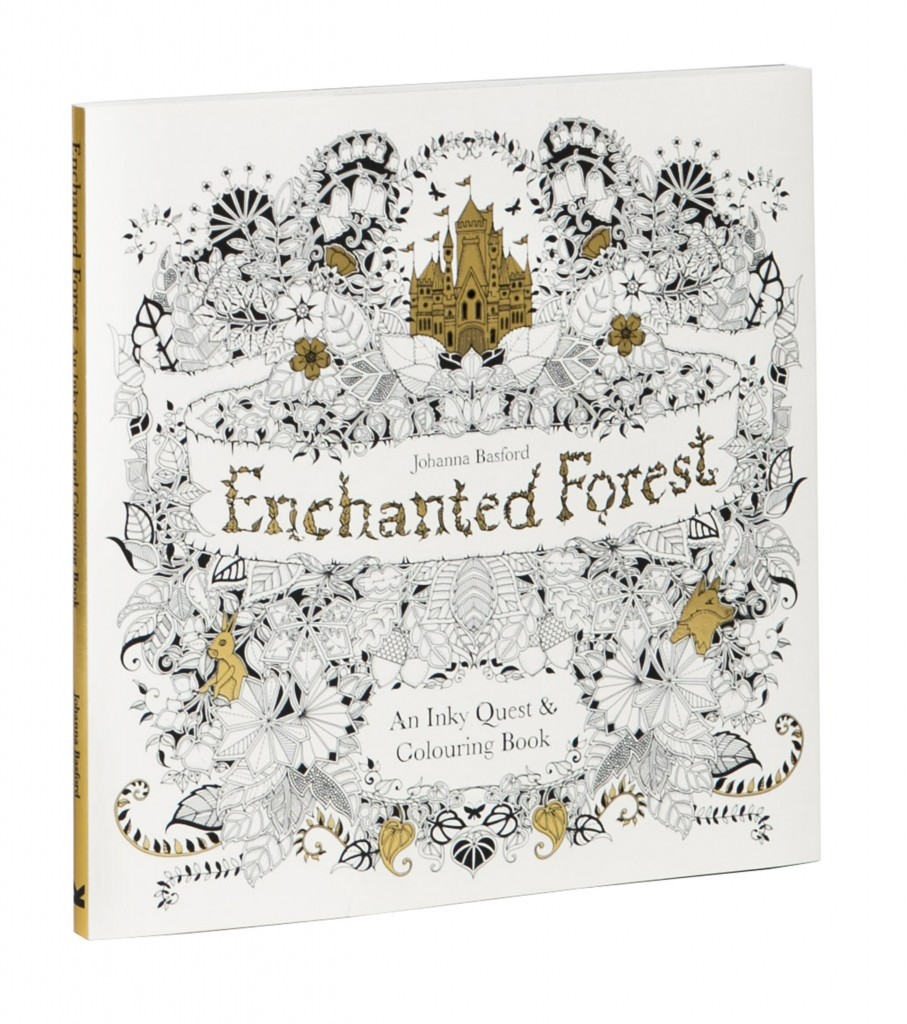 The Enchanted Forest Grown Up Colouring Book