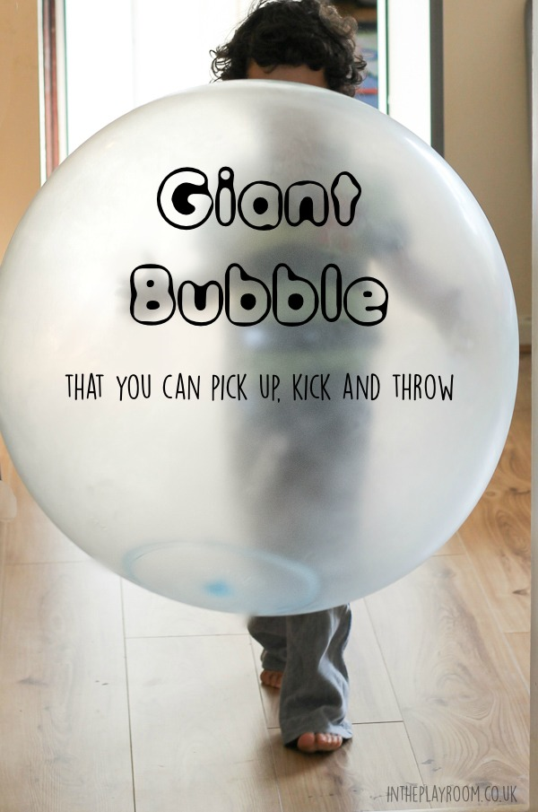 Wubble bubble ball, a giant bubble that you can pick up, kick and throw. Awesome for summer fun