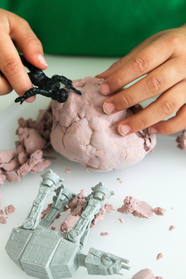star wars moon dough