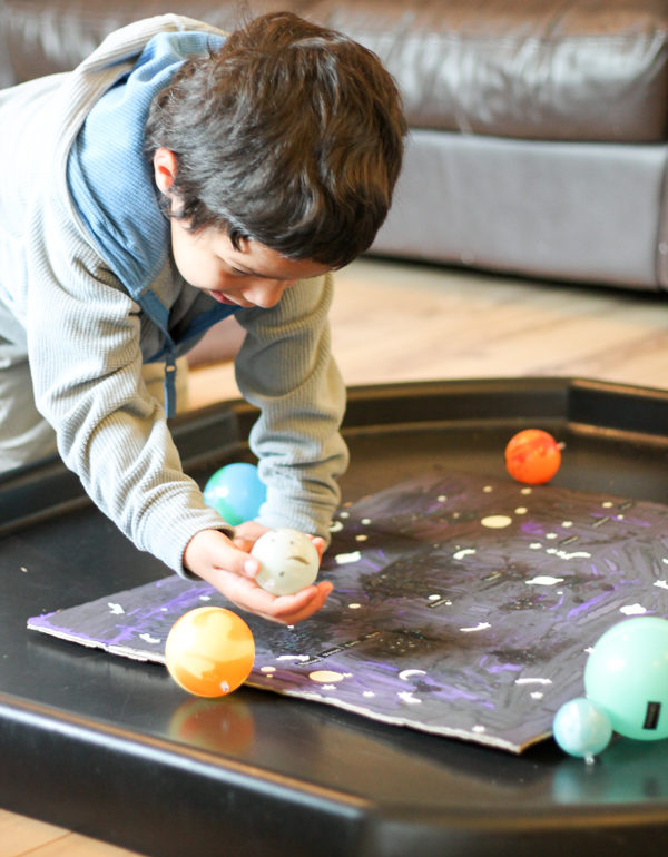 learning about the solar system hands on play with planets