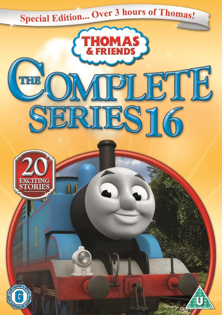 Thomas and friends complete series 16 dvd