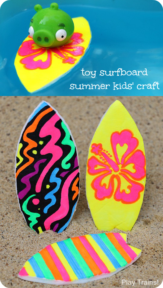 Toy-Surfboard-Summer-Craft-for-Kids