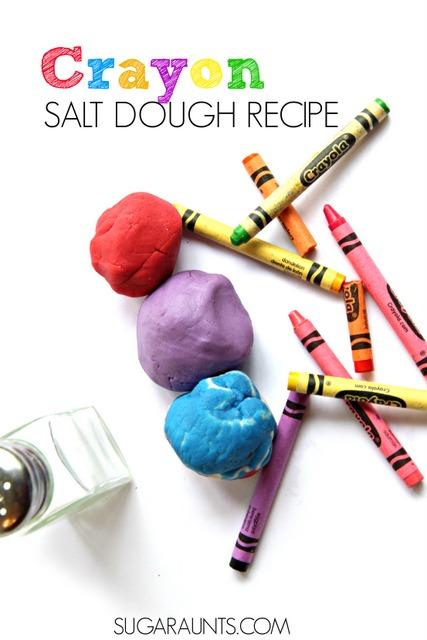 crayon salt dough recipe