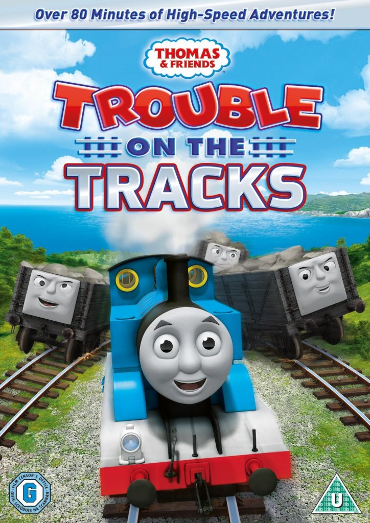 thomas and friends trouble on the tracks DVD