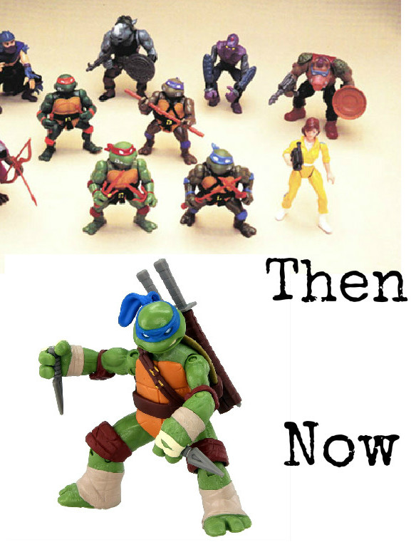 TMNT 90s and now