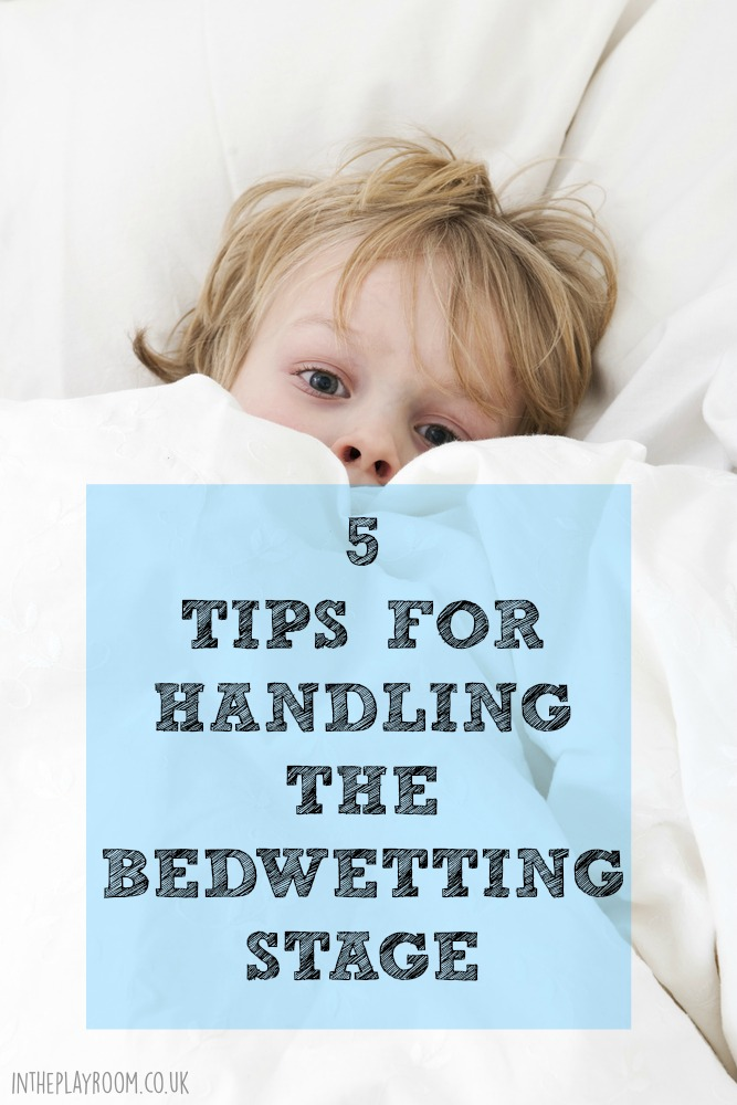 5 tips for handling the bedwetting stage