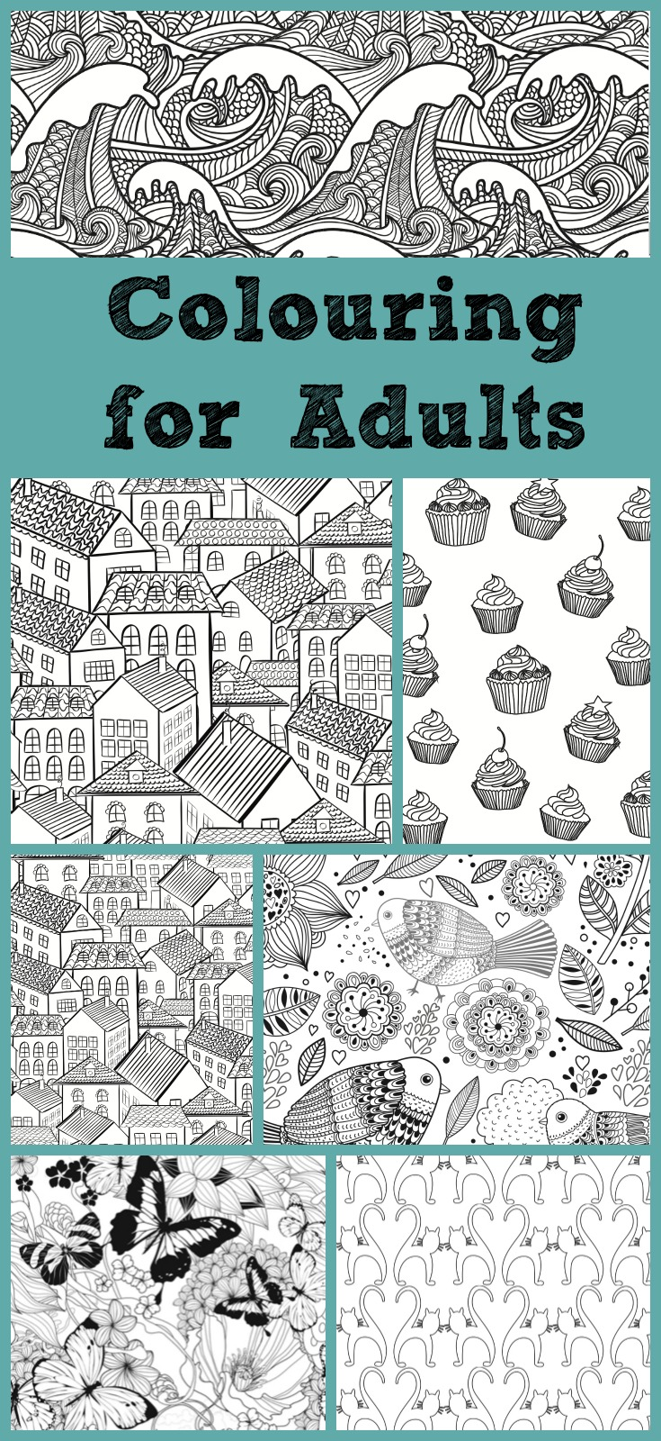 Colouring Books For Adults