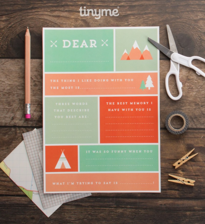 Dad Appreciation Printables for Father's Day. Kids can fill in with the thing I like doing with you most is, or the best memory I have with you is... etc