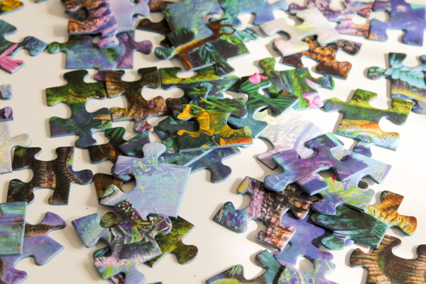 ravensburger dinosaur puzzle pieces