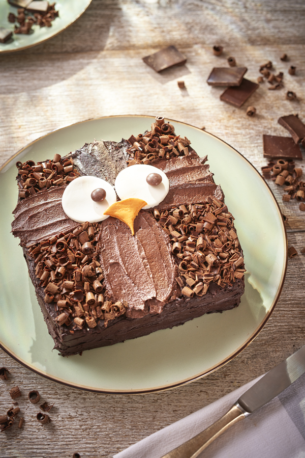 Basic Chocolate Sponge Cake Recipe With  Eggs
