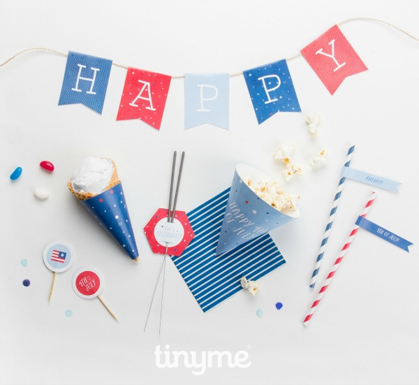 4th July party printables