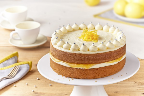 Zesty Lemon Celebration Cake In The Playroom