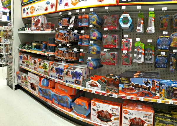 hexbugs display in toys r us