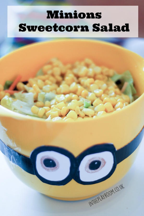 minions sweetcorn salad